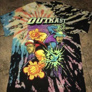 OutKast Tee Shirt Tie Dye Hip-Hop S,M,L,XL,2XL Rar